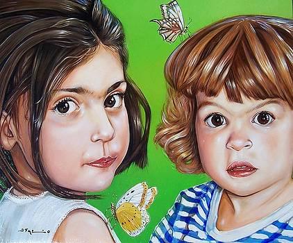 Two sisters by Joe Fazio