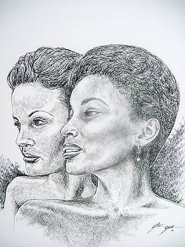 Two Sisters by Otis  Cobb