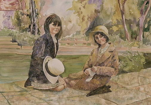 Two Sisters by Wendy Hill