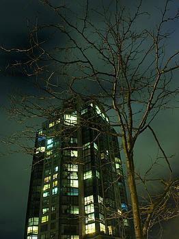 Barbara  White - Two Skyscrapers