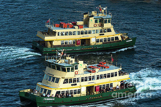 Two Sydney Ferries by Andrew Michael