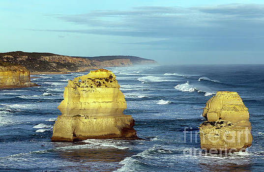 Two of The Twelve Apostles  by John Gaffen