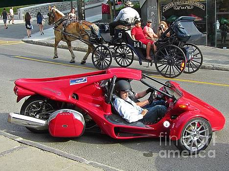 John Malone - Two Totally Different Types of Horsepower