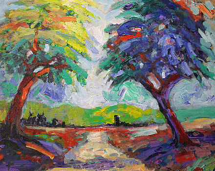 Two Trees by Benjamin Johnson