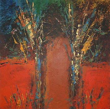 Two trees by Gayatri Manchanda