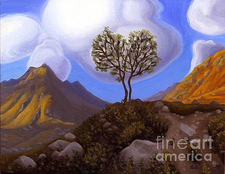 Two Trees in Archangel Valley by Ruth Hulbert