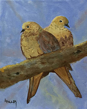 Two Turtle Doves by Linda Hiller