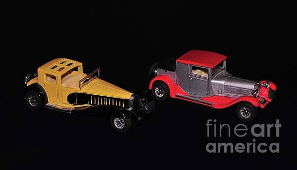 Two vintage cars models  by Akshay Thaker- PhotOvation