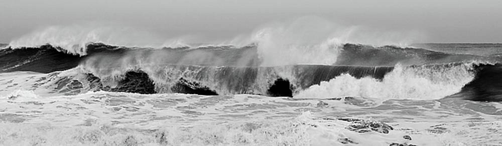 Two Waves Are Better Than One - Jersey Shore by Angie Tirado