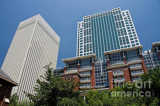 Two Wells Fargo, Three Wells Fargo and The Ratcliffe Condos by Jill Lang