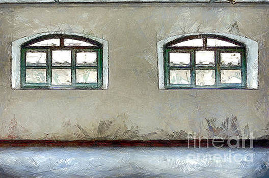 Two windows by Giuseppe Cocco