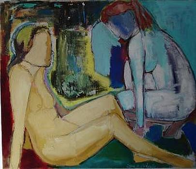 'Two Woman by Lilli  Ladewig