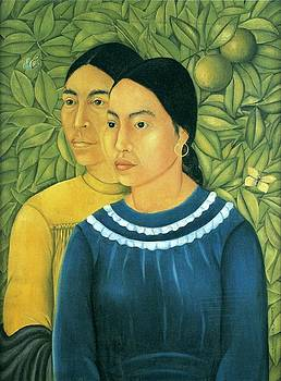 Kahlo - Two Women by Frida Kahlo