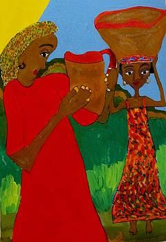 Two Women by Joan Dance