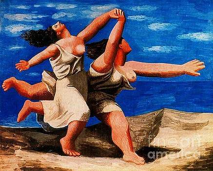 Picasso - Two Women Running On The Beach