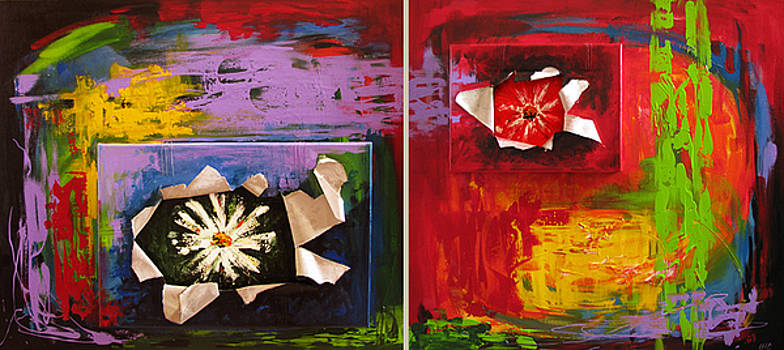 Two Worlds  by Ioana Harjoghe Ciubucciu
