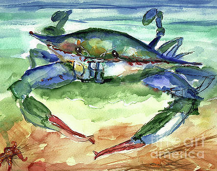 Tybee Blue Crab by Doris Blessington