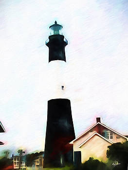 Tybee Island Light by Barry Jones