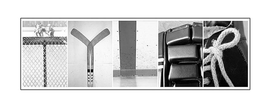 Tyler Hockey Alphabet Art by Kathy Stanczak