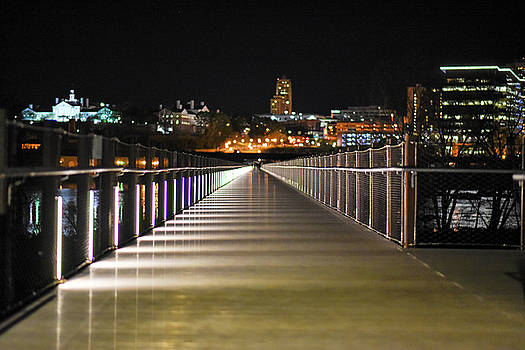 Tyler Potterfield Bridge At Night by Doug Ash