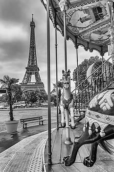 Melanie Viola - Typical Paris - monochrome