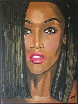 Tyra Banks by Garnett Thompkins