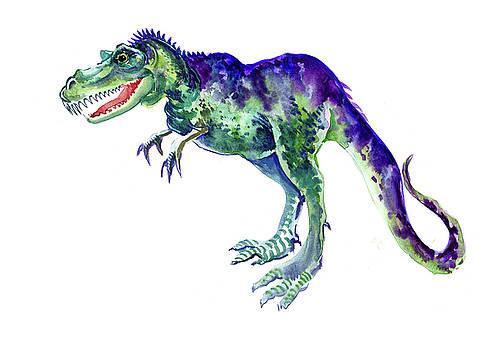 Tyrannosaurus, dinosaur art design by Suren Nersisyan