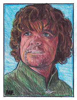 Tyrion Lannister as portrayed by actor Peter Dinklage   by Neil Feigeles