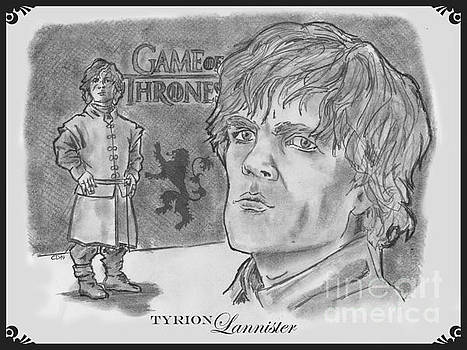Tyrion Lannister-  by Chris  DelVecchio