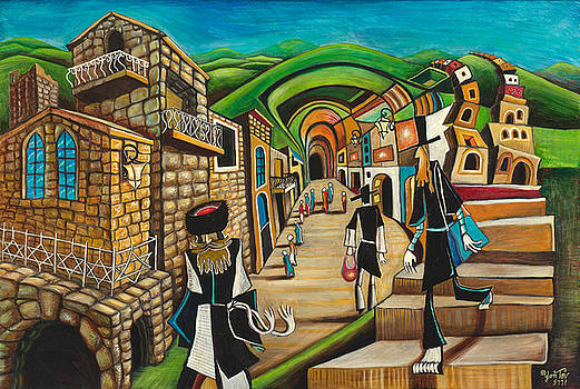 Tzfat The Way I See It by Yom Tov Blumenthal