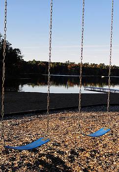 Sue Duda - U R Here - On the Swings