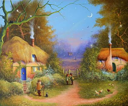 The Hamlet of Gnarl Mid Summers Eve by Ray Gilronan