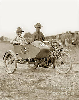 California Views Mr Pat Hathaway Archives - U. S. Army motorcycle Ambulance Corps WW I  1918