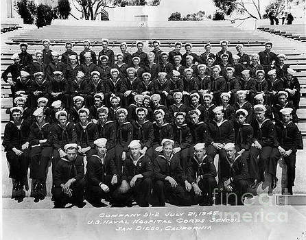 California Views Mr Pat Hathaway Archives - U. S. Naval Hospital Corps School San Diego California July 21 1945