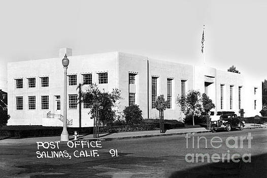 U. S. Post Office Salinas, Calif. Circa 1936 by California Views Mr Pat Hathaway Archives