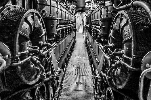 John McArthur - U505 Engine Room