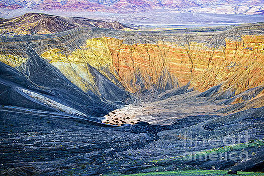 Ubehebe Crater by Charles Dobbs