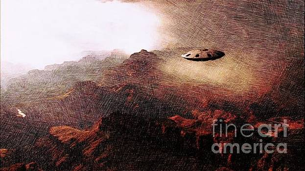 Raphael Terra - UFO in the Mountains