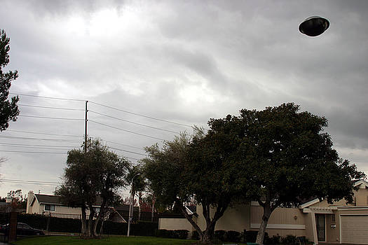 Michael Ledray - ufo over my neighborhood