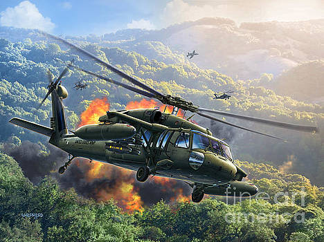 UH-60 Blackhawk by Stu Shepherd