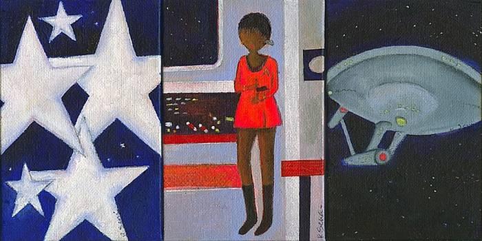 Uhura Stars in space by Ricky Sencion