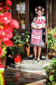 Ukrainian beautiful girl by Azad Pirayandeh