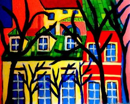 Ulica Szeroka by Ted Hebbler