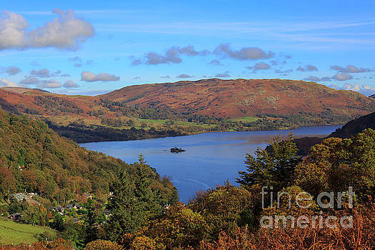 Ullswater and Glenridding in the Lake District Cumbria by Louise Heusinkveld
