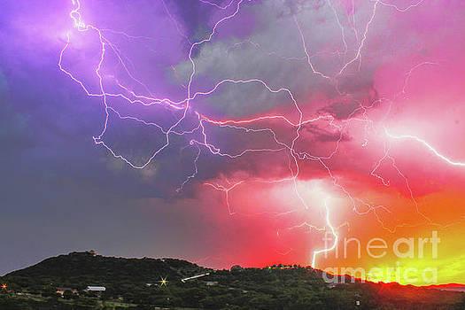 Michael Tidwell - Ultimate Sunset Lightning