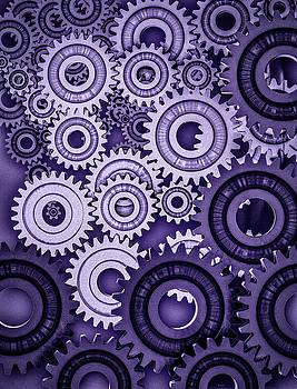 Ultraviolet Gears by Bob Orsillo