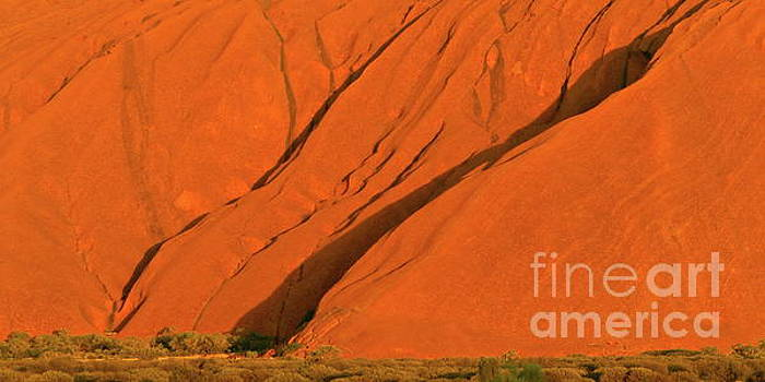 Tim Richards - Uluru Close Up
