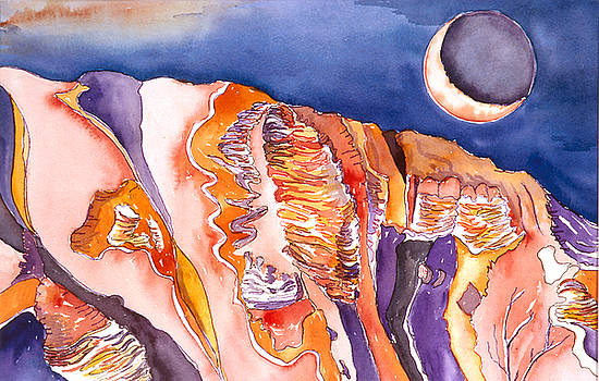 Uluru Eclipse by Collin Murphy