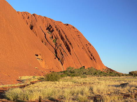 Uluru in Australia by Georg Friedrich