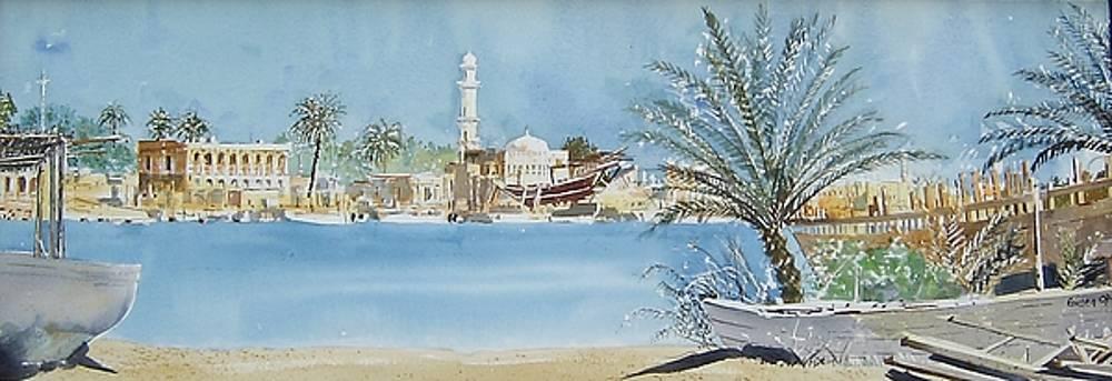 Um Al Qwein Panorama by Martin Giesen